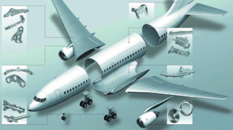 Пятиосевой портальный обрабатывающий  центр DOOSAN BМ 2740U  — лучшее  решение для высокоскоростной обработки  крупногабаритных авиационных деталей