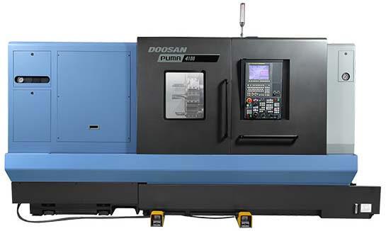 Серия PUMA 4100/5100: Новое поколение крупногабаритных токарных центров!