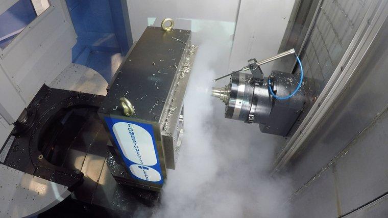 Жидкий азот вместо СОЖ - улучшение процесса мехобработки металлов