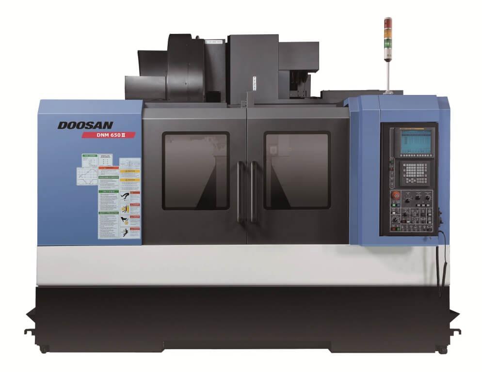 DNM650II на стенде DOOSAN (EMO Hannover. 2013)
