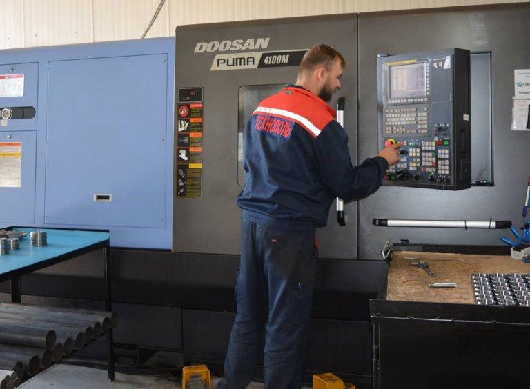 Отзыв о токарных станках ЧПУ DOOSAN (PUMA 4100M)