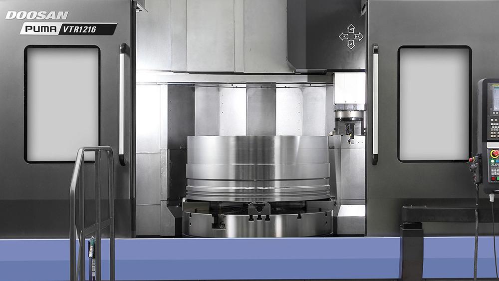 Вертикальные токарные центры DOOSAN для производства крупногабаритных деталей