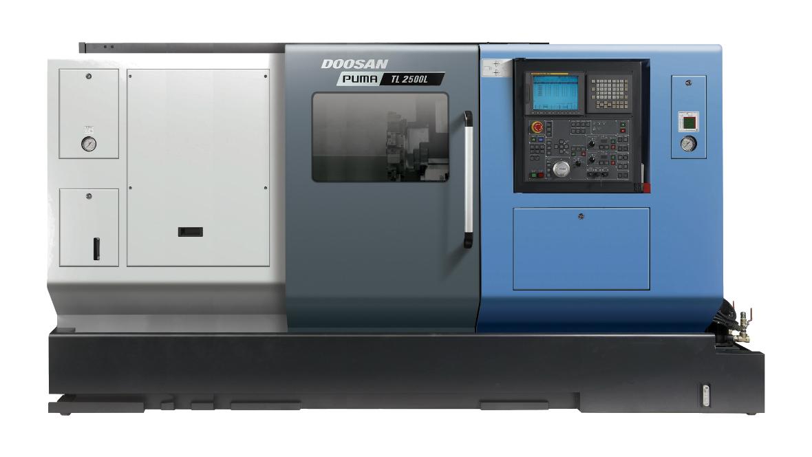 Горизонтальні токарні центри PUMA TL2500XL/XLM для економічної обробки валів