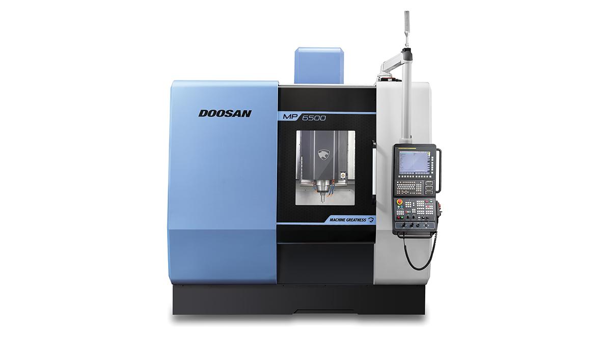 Анонс: Вертикальный обрабатывающий центр MP 6500 для производства пресс-форм и штампов