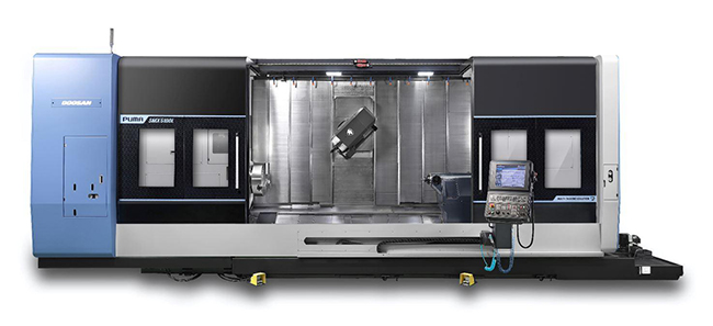PUMA SMX5100L/LS – новый высокоточный многофункциональный токарный центр от DOOSAN