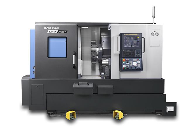 LYNX 2600SY пополняет ряды универсальных токарных центров